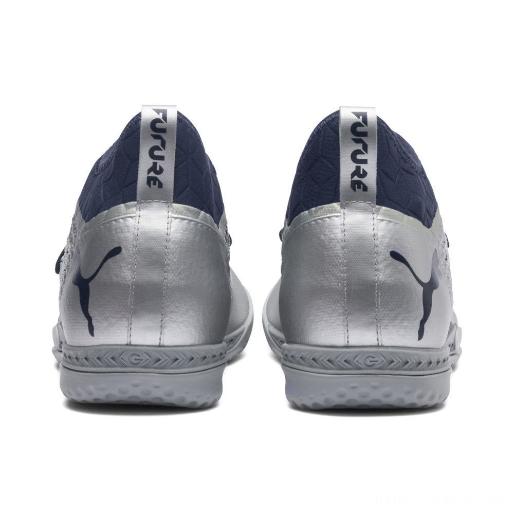 Puma FUTURE 2.3 NETFIT IT Silver-Peacoat Sales