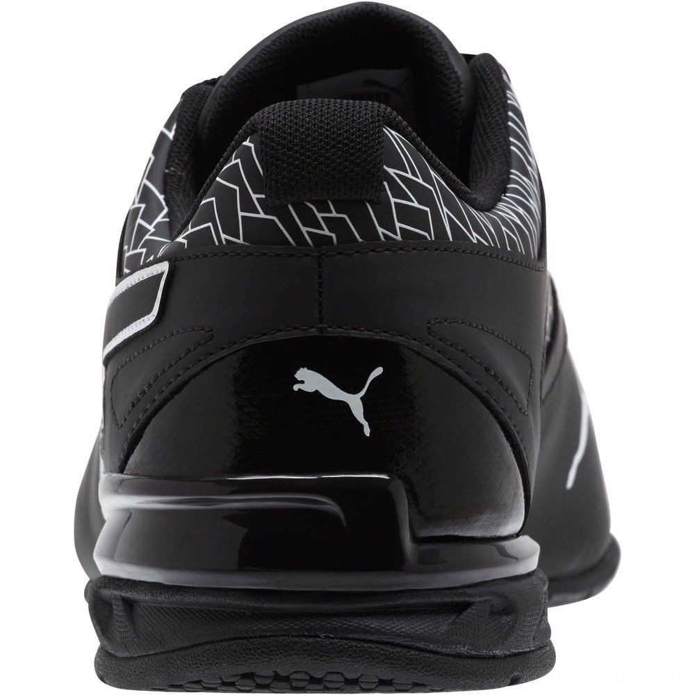Puma Tazon 6 Fracture FM Men's Sneakers Black- Black Sales