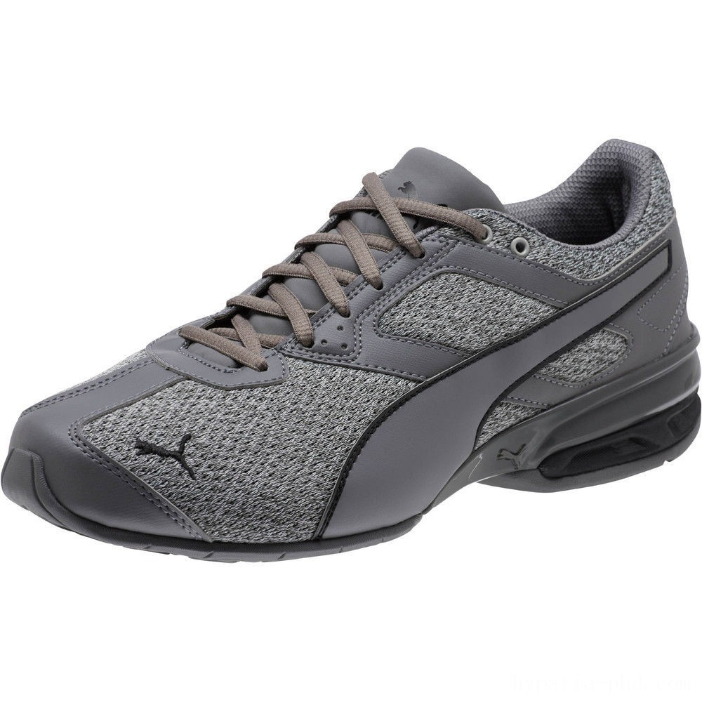Puma Tazon 6 Knit Men's Sneakers Quarry-QUIET SHADE-Black Sales