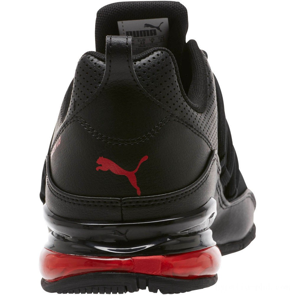 Puma Cell Pro Limit Men's Running Shoes Black-High Risk Red Sales