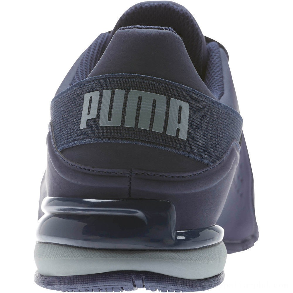 Puma Viz Runner Men's Running Shoes Peacoat-Quarry Sales