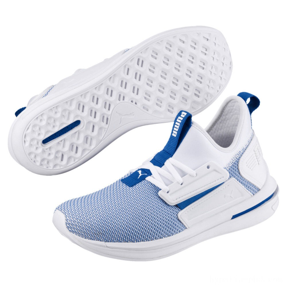 Puma IGNITE Limitless SR New School Sneakers White-Strong Blue Sales