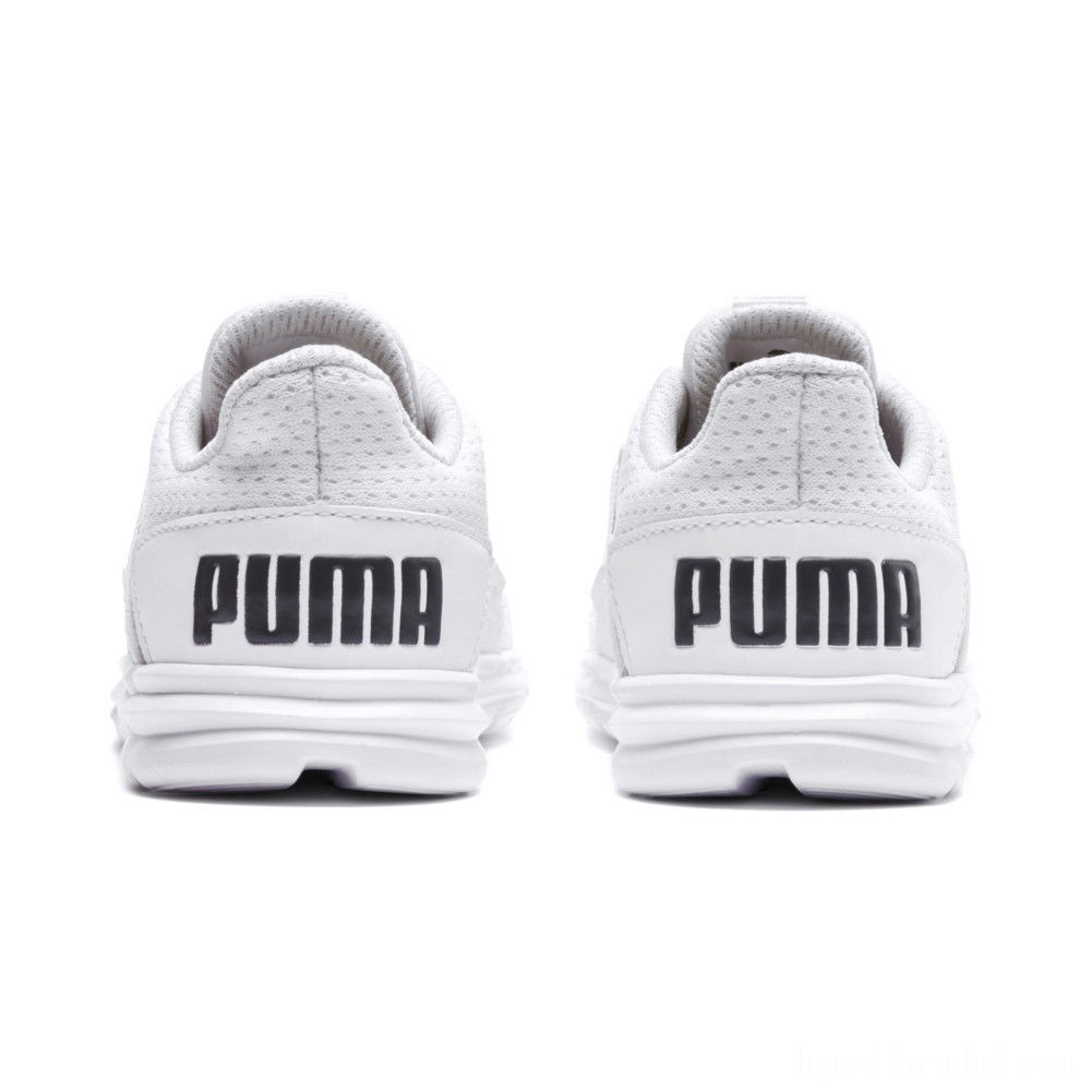 Puma Enzo Street Kids' Preschool Sneakers White-White-Iron Gate Sales