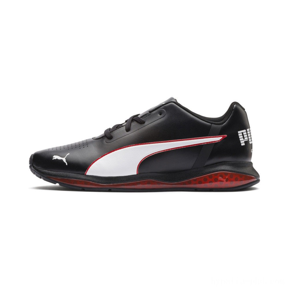 Puma Cell Ultimate SL Men's Running Shoes Pma Blk-Pma Wht-Hgh Rsk Rd Sales