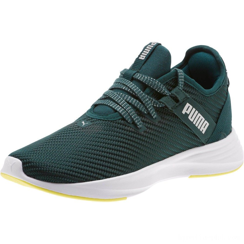 Puma Radiate XT Cosmic Women's Training Shoes Ponderosa Pine- Silver Sales