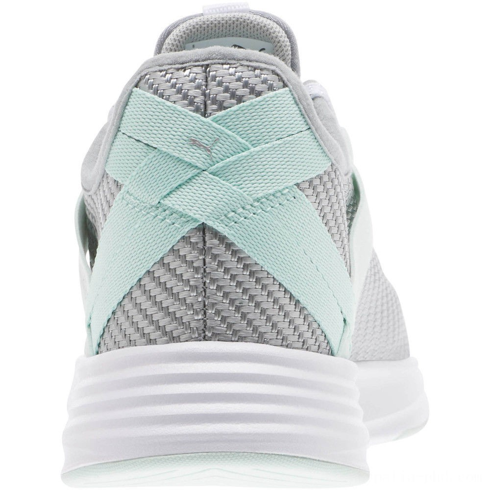 Puma Radiate XT Cosmic Women's Training Shoes Silver-Fair Aqua Sales