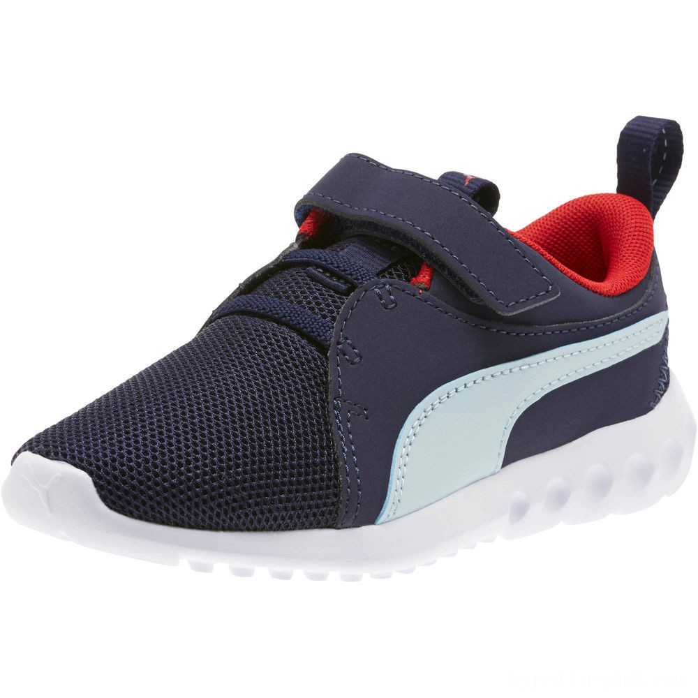 Puma Carson 2 Casual AC Sneakers PSPeacoat-Light Sky-Red Sales