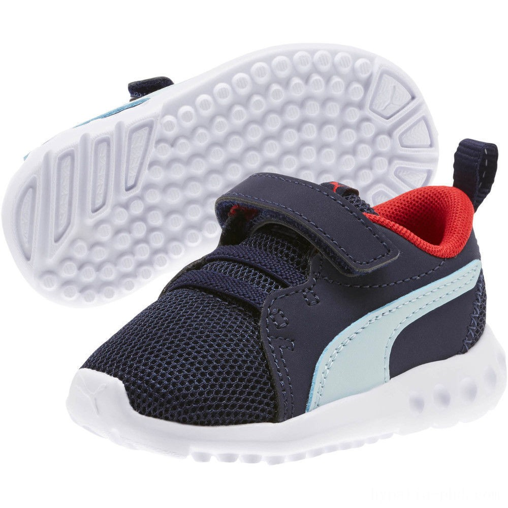 Puma Carson 2 Casual Sneakers INFPeacoat-Light Sky-Red Sales