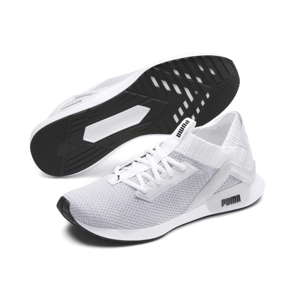 Puma Rogue Men's Running Shoes White- Black Sales