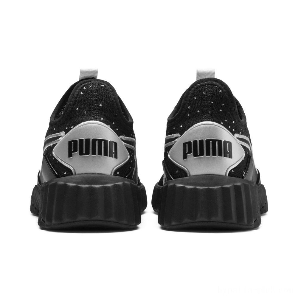 Puma Defy Speckle Women's Training Shoes Black- Silver Sales