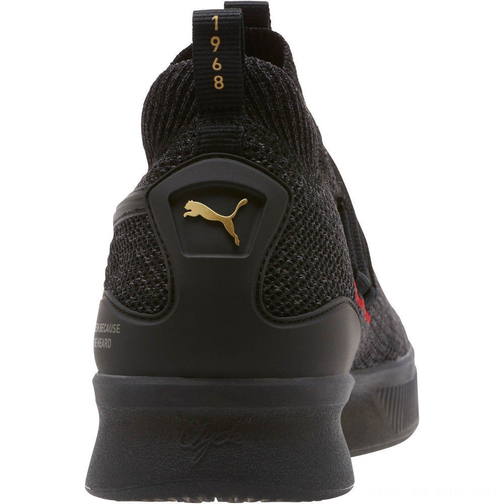 Puma Clyde Court Reform Basketball Shoes Black Sales