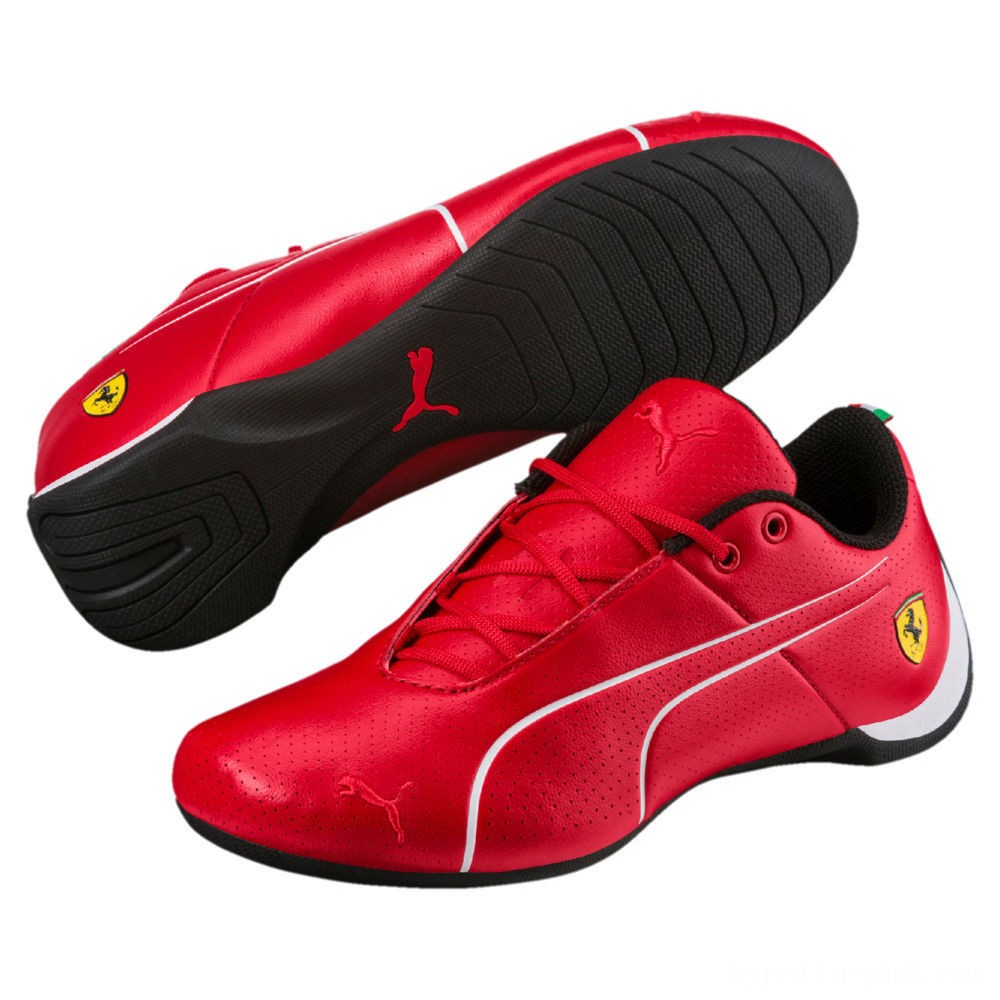 Puma Scuderia Ferrari Future Cat Ultra Sneakers JRRosso Corsa- White Sales