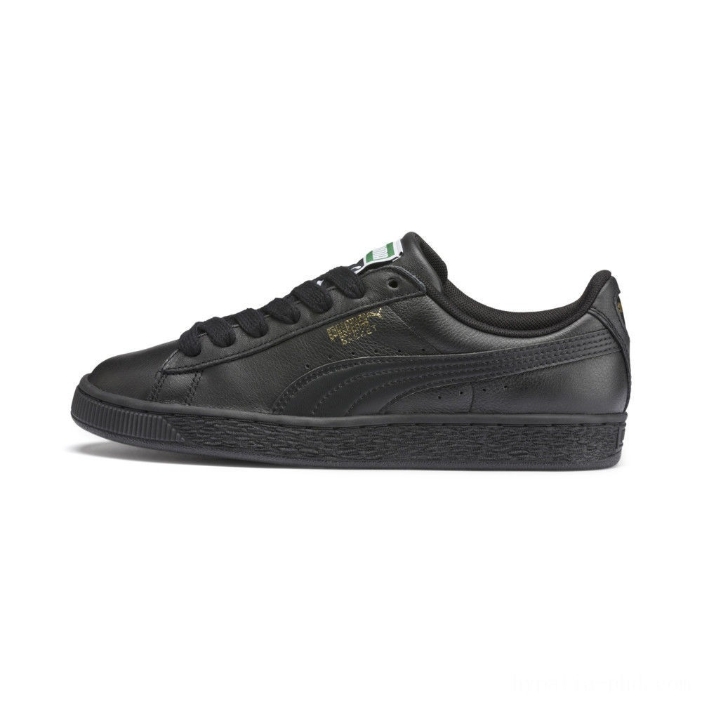 Puma Heritage Basket Classic Sneakers black-team gold Sales