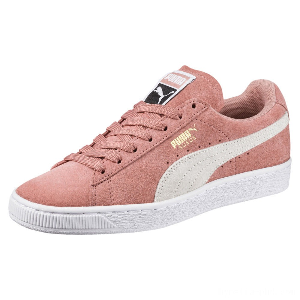 Puma Suede Classic Women's Sneakers Cameo Brown- White Sales