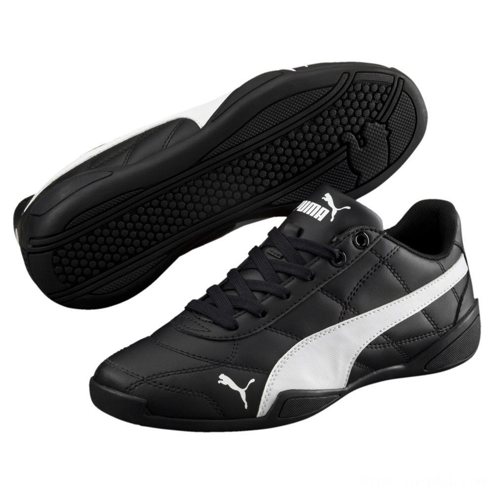 Puma Tune Cat 3 Shoes JR Black- White Sales