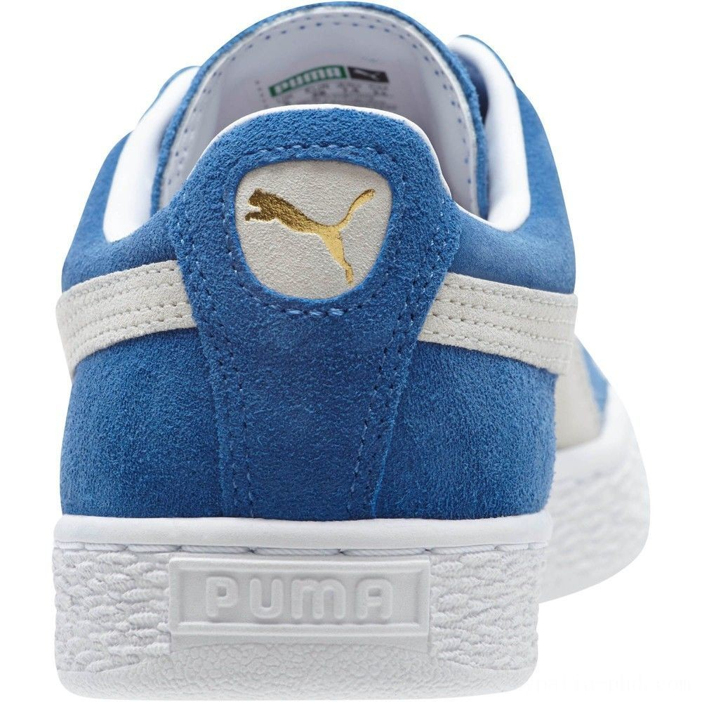 Puma Suede Classic + Women's Sneakers olympian blue-white Sales
