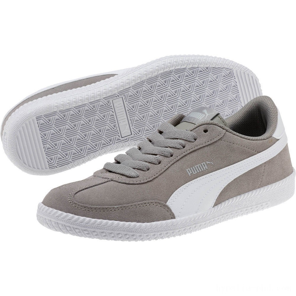 Puma Astro Cup Suede Sneakers Elephant Skin- White Sales