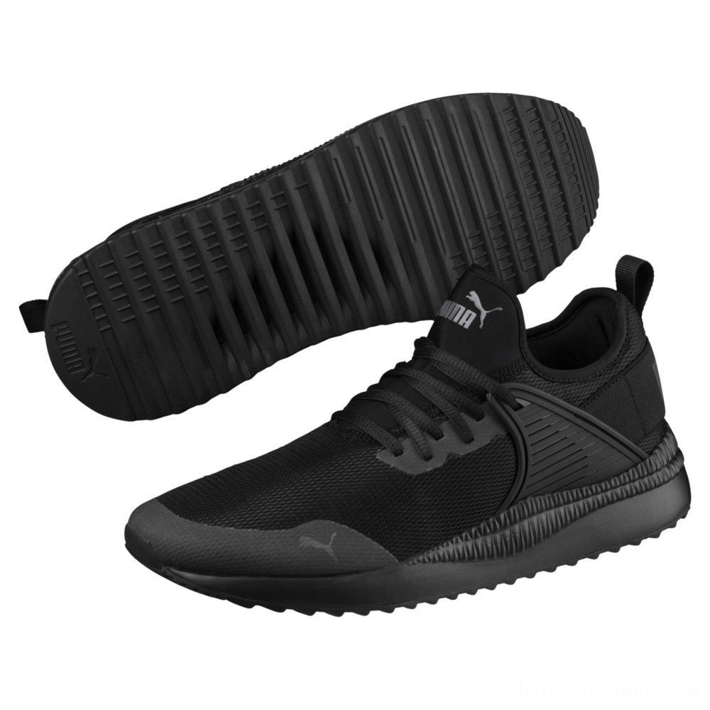 Puma Pacer Next Cage Sneakers Black- Black Sales