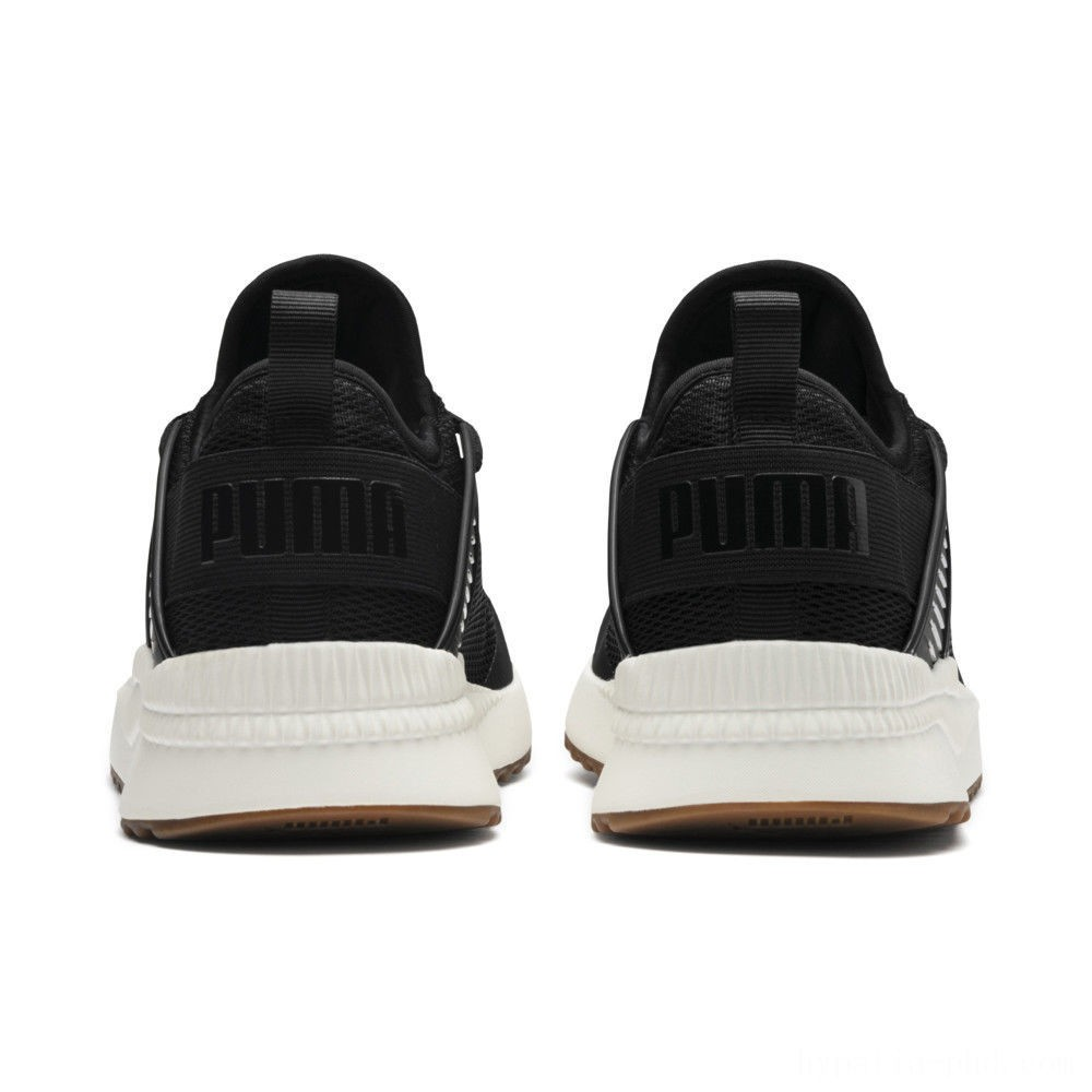 Puma Pacer Next Cage Sneakers P. Black-P. Black-Whis.White Sales
