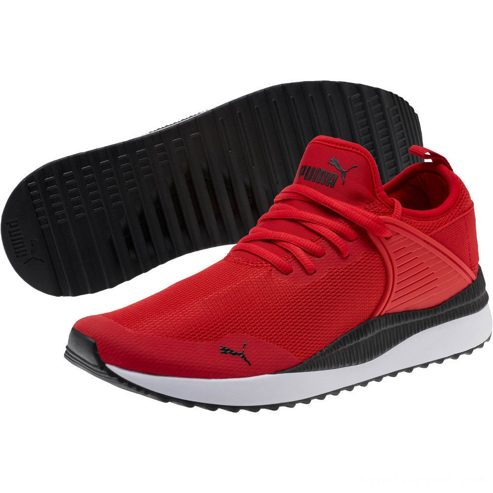 Puma Pacer Next Cage Sneakers High Risk Red- Black Sales