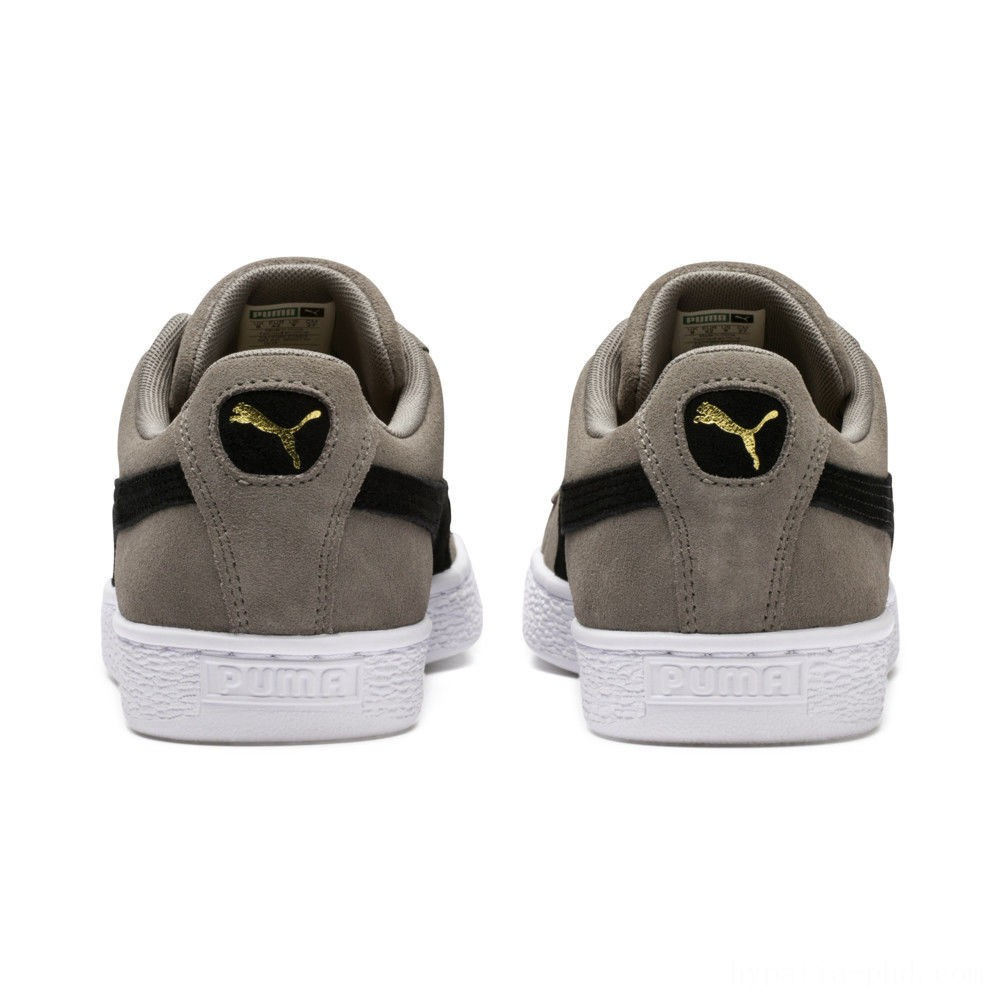 Puma Suede Classic Sneakers Charcoal Gray- Black Sales