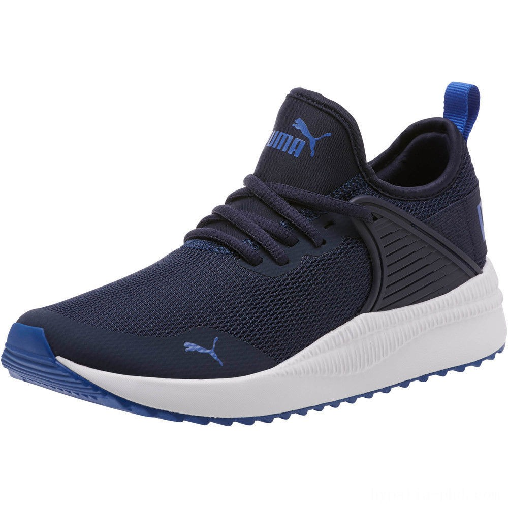 Puma Pacer Next Cage JR Sneakers Peacoat-Surf The Web Sales