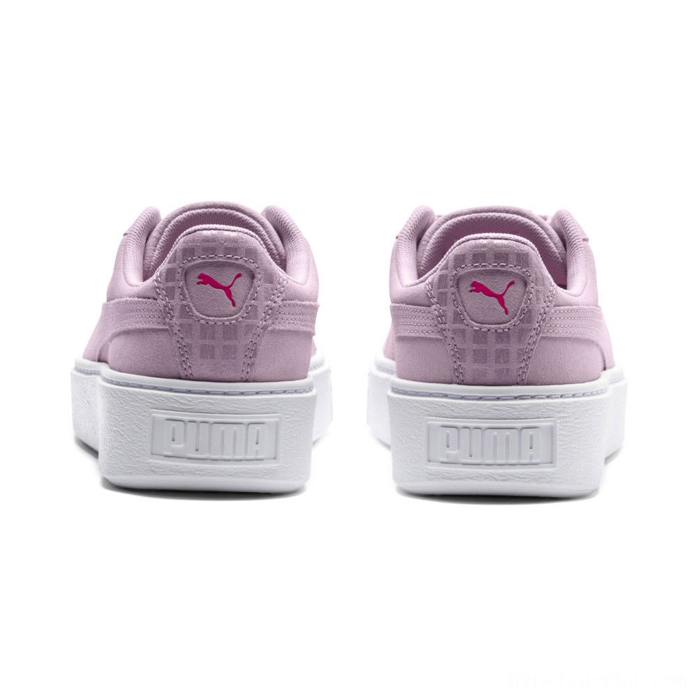 Puma Suede Platform Street 2 Women's Sneakers Winsome Orchid Sales