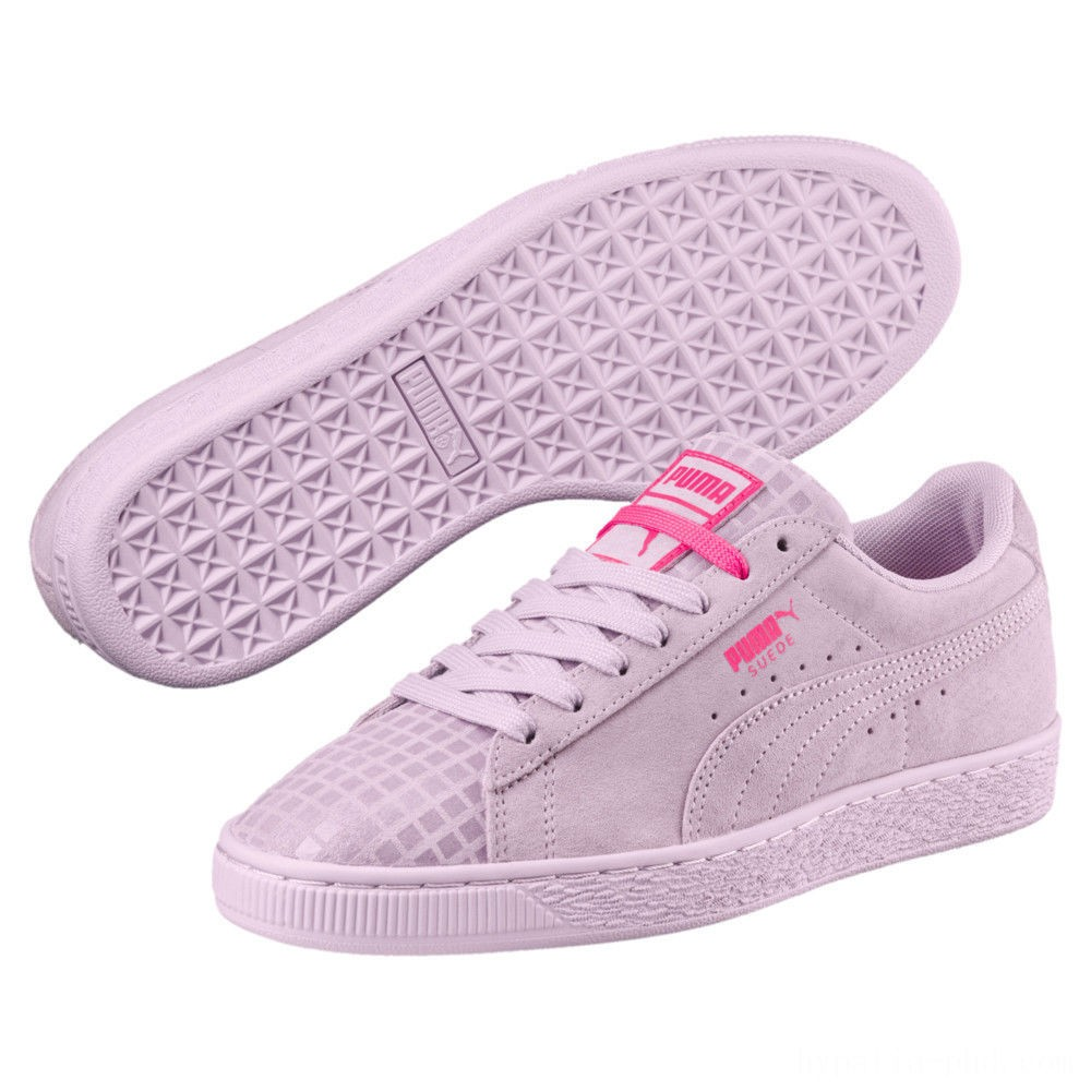 Puma Suede Classic Street 2 Women's Sneakers Wins Orchid- Aged Silver Sales