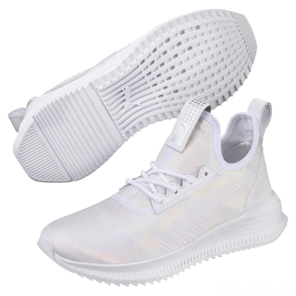 Puma Evolution AVID Ice Women's Sneakers White- White Sales