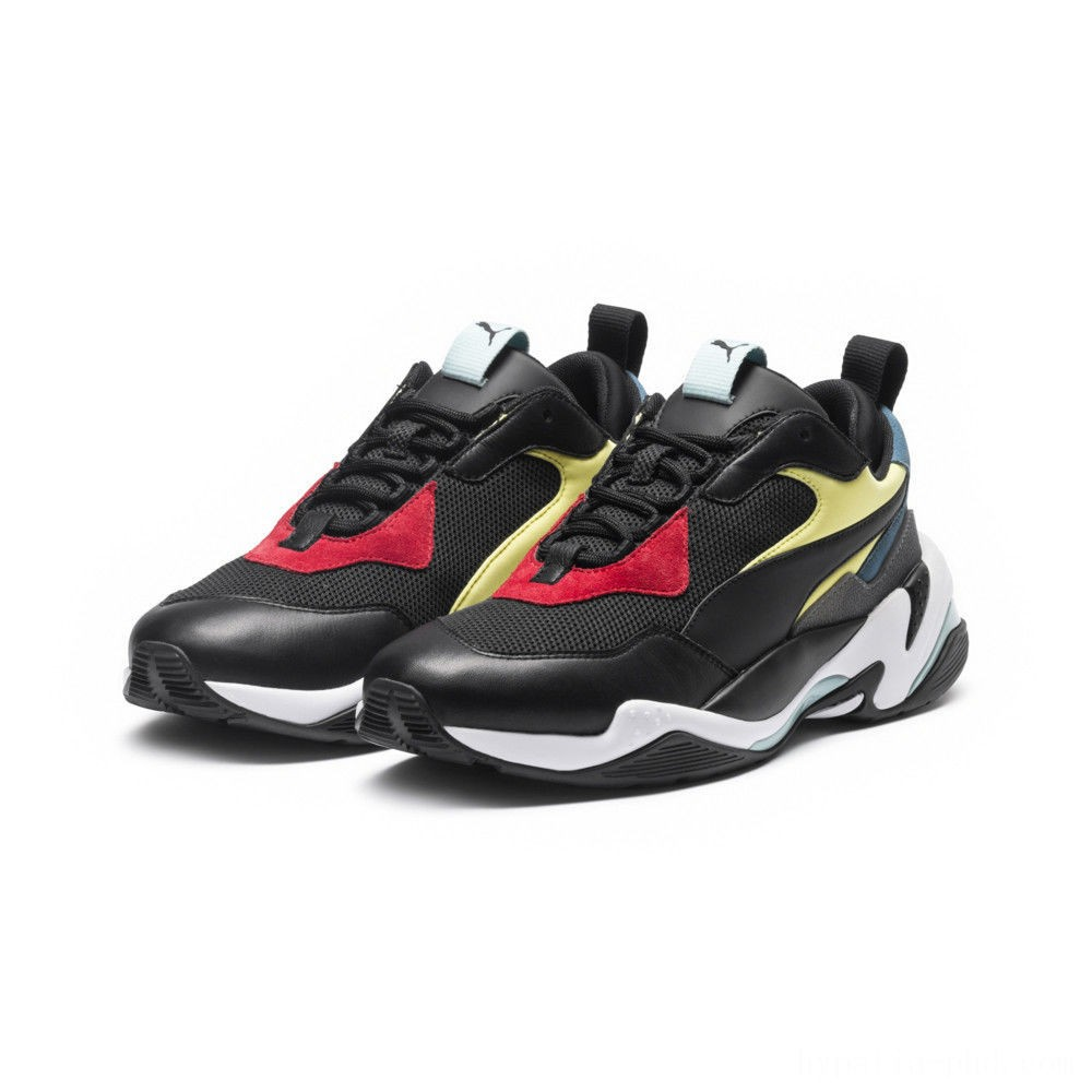 Puma Thunder Spectra Men's Sneakers Blk- Blk- White Sales