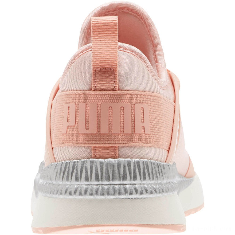 Puma Pacer Next Cage ST2 Women's Sneakers Peach Bud- Silver Sales