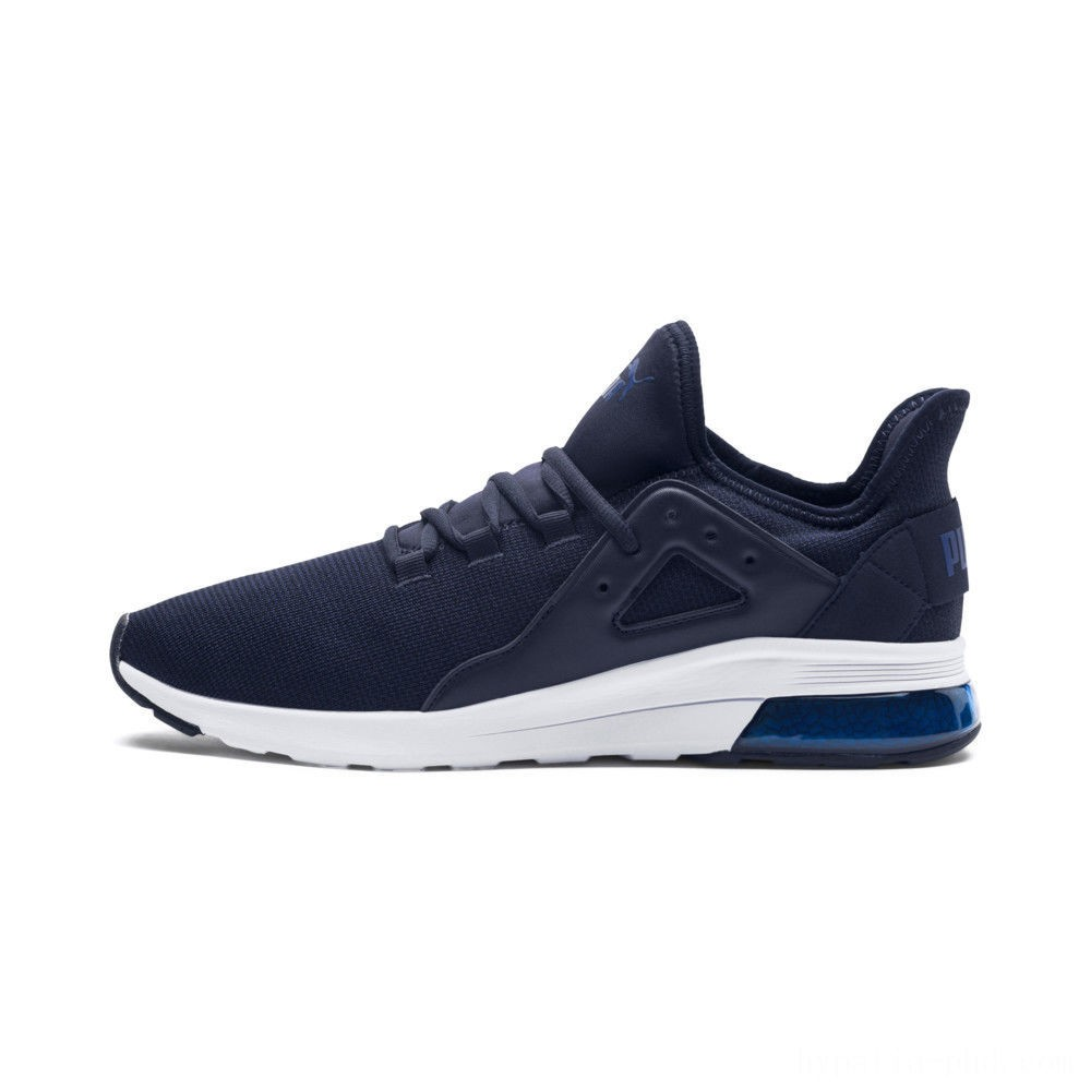 Puma Electron Street Knit Sneakers Peacoat-Sodalite Blue Sales