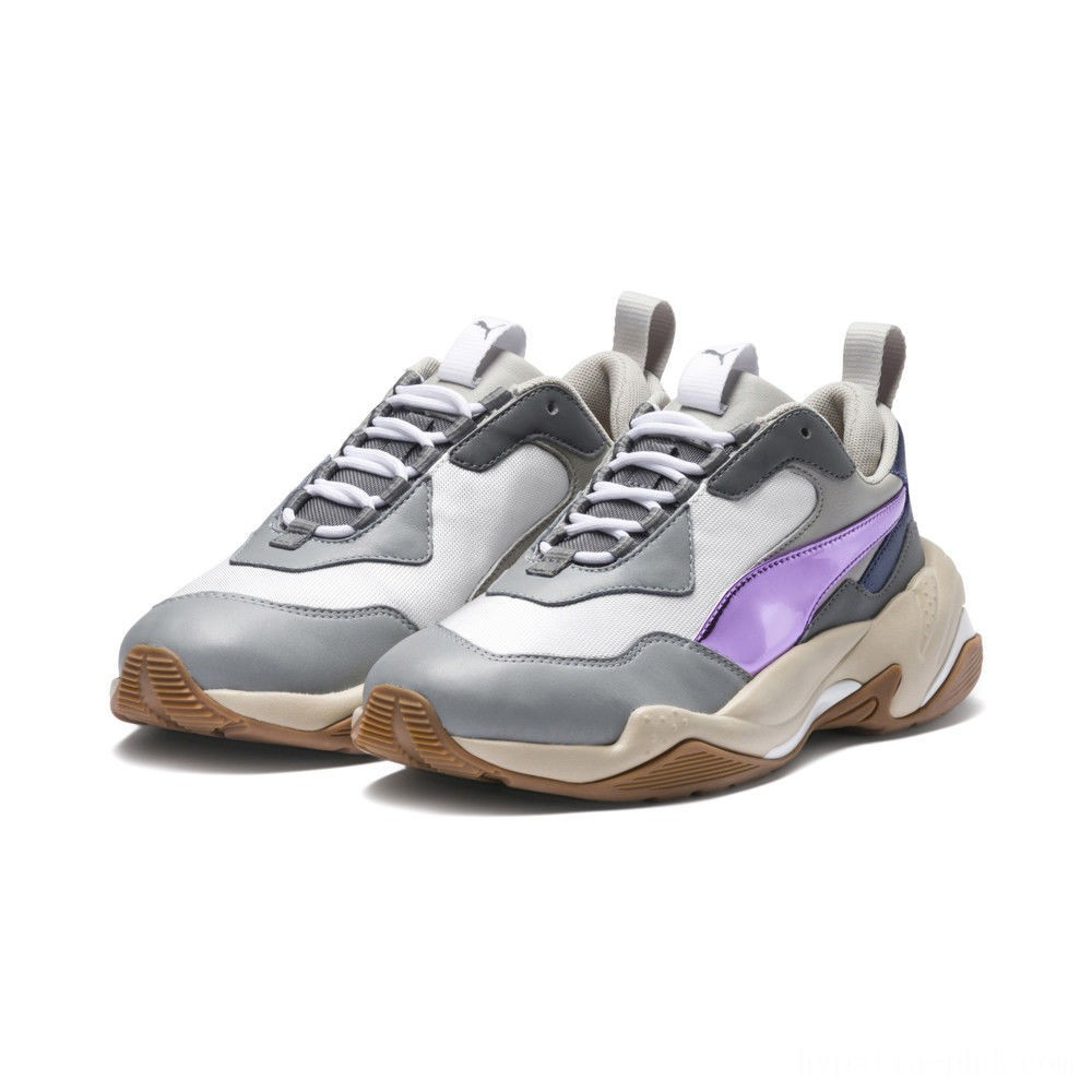 Puma Thunder Electric Women's Sneakers White-Pink Lavender-Cement Sales
