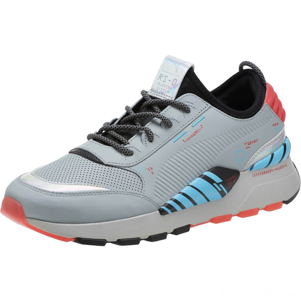 Puma RS-0 Ai Circuit Board Sneakers Quarry-Black- Red Sales