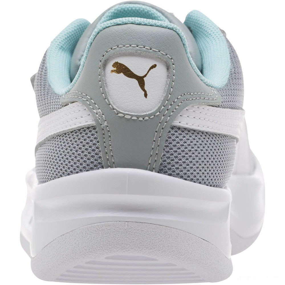 Puma California Casual Sneakers JRQuarry- White- Gold Sales