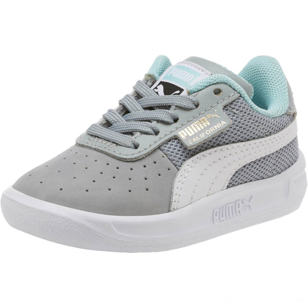 Puma California Casual Sneakers INFQuarry- White-Gold Sales
