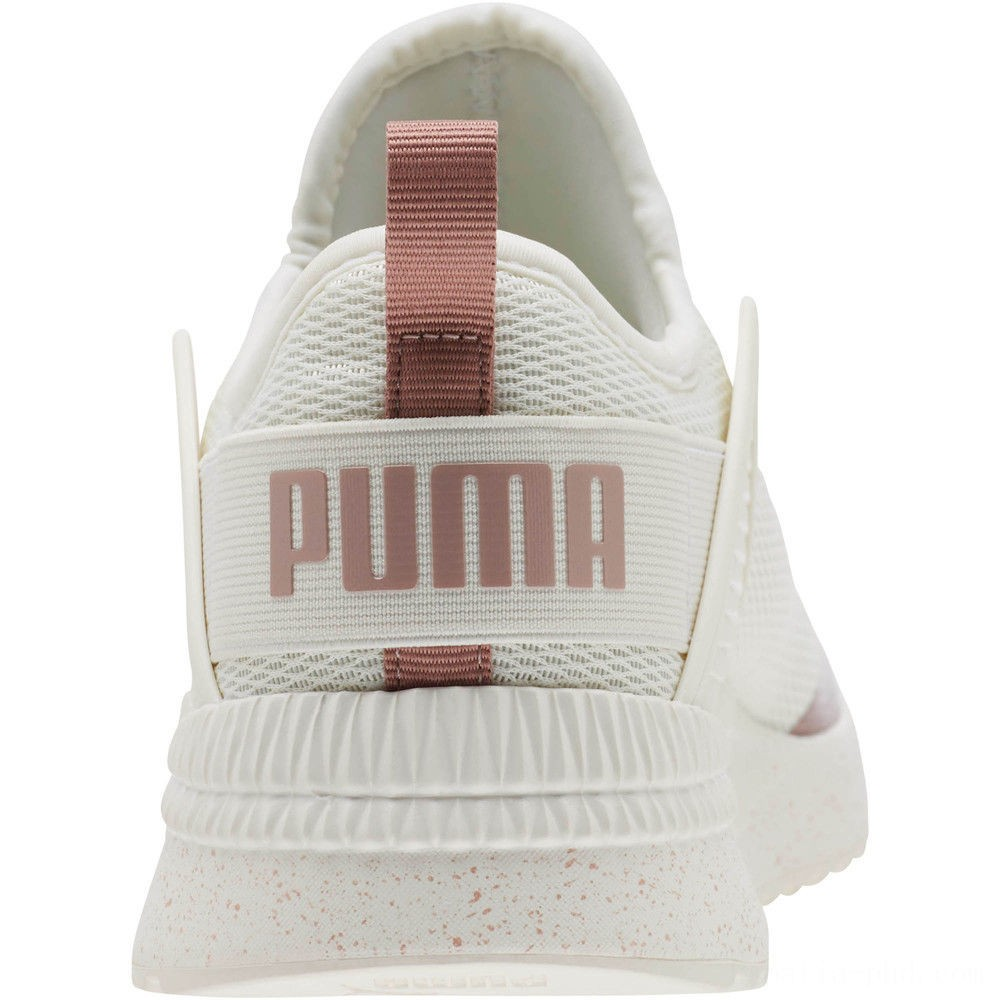 Puma Pacer Nex tCage Metallic Speckle Women's Sneakers Whisper White-Rose Gold Sales