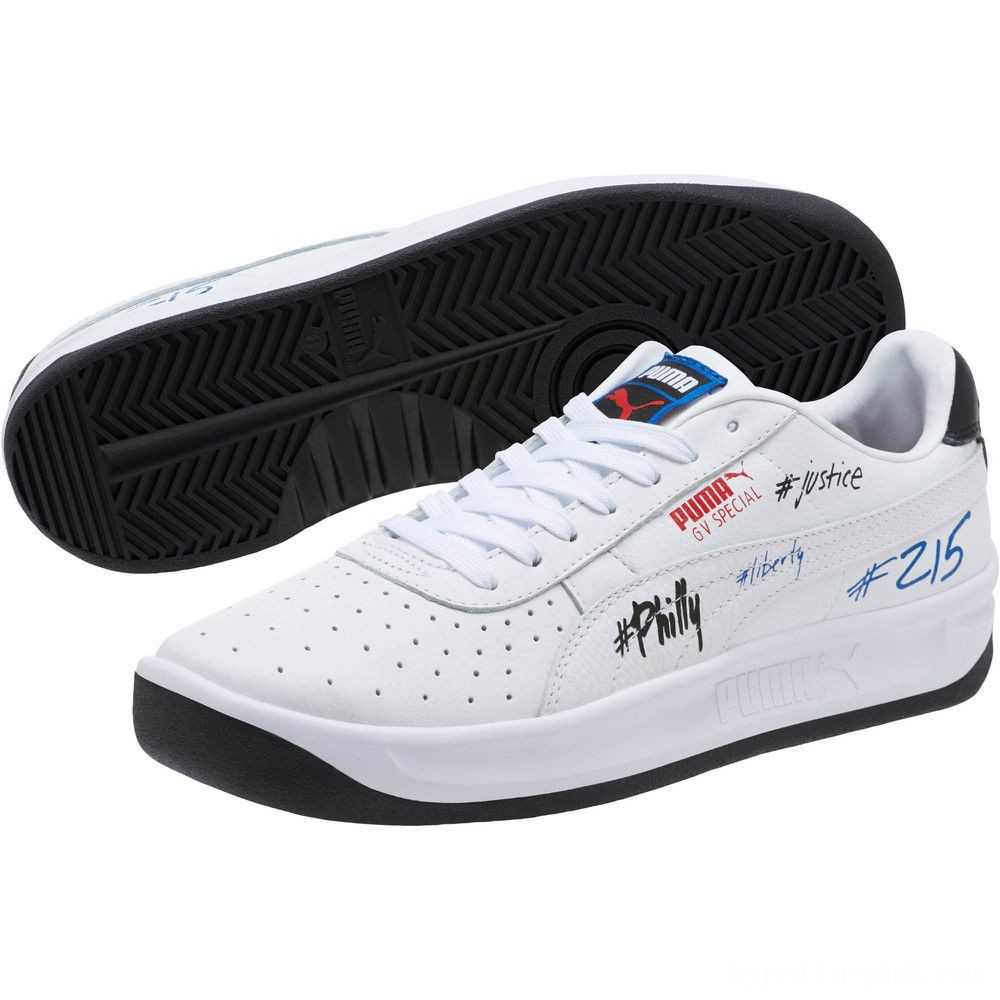 Puma GV Special Philly Sneakers White- Ryal-Pma Blk Sales