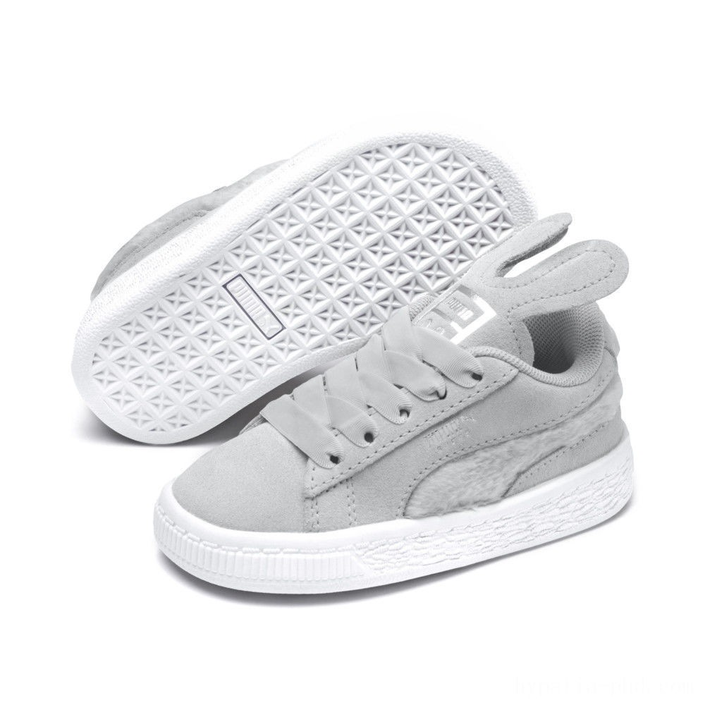 Puma Suede Easter AC Sneakers INFGlacier Gray-Coral Cloud Sales