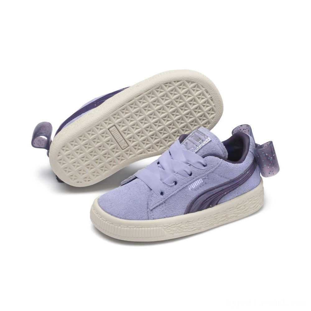 Puma Suede Jelly Bow AC Sneakers PSSweetLavender-Indigo-White Sales