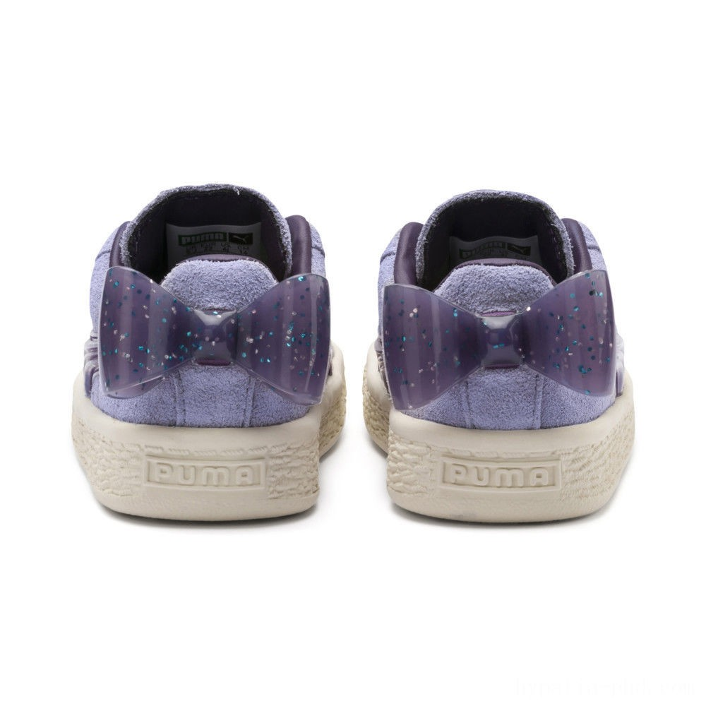 Puma Suede Jelly Bow AC Sneakers INFSweetLavender-Indigo-White Sales