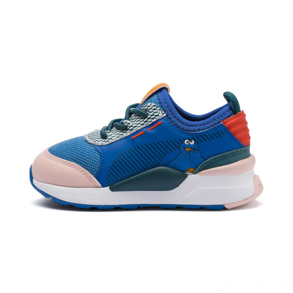 Puma Sesame Street 50 RS-0 Sneakers PSVeiled Rose-Indigo-BlueCoral Sales