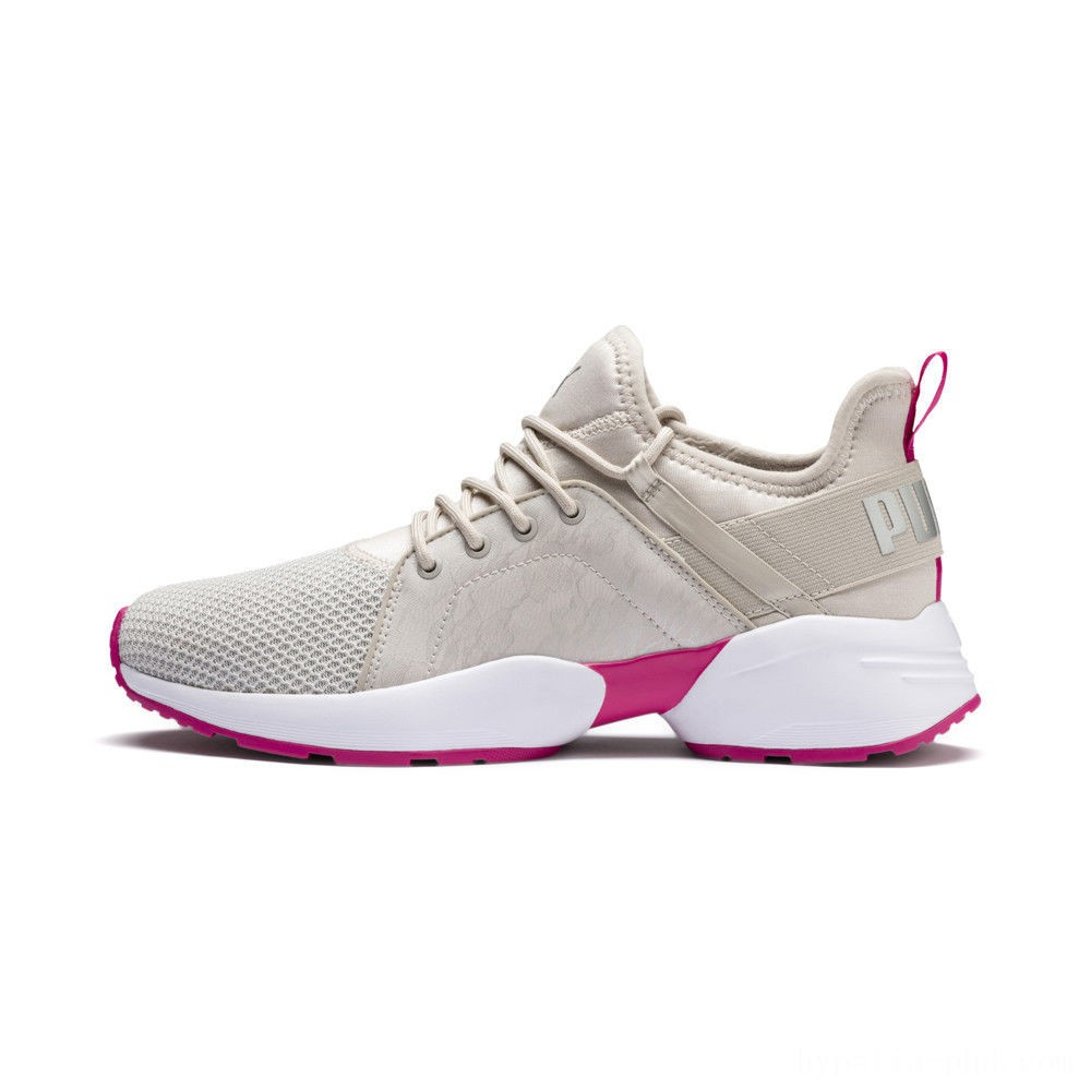 Puma Sirena Summer Women's Sneakers Silver Gray- White Sales