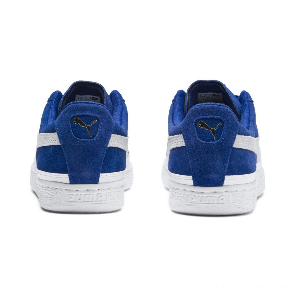 Puma Suede Skate Sneakers Surf The Web- White Sales