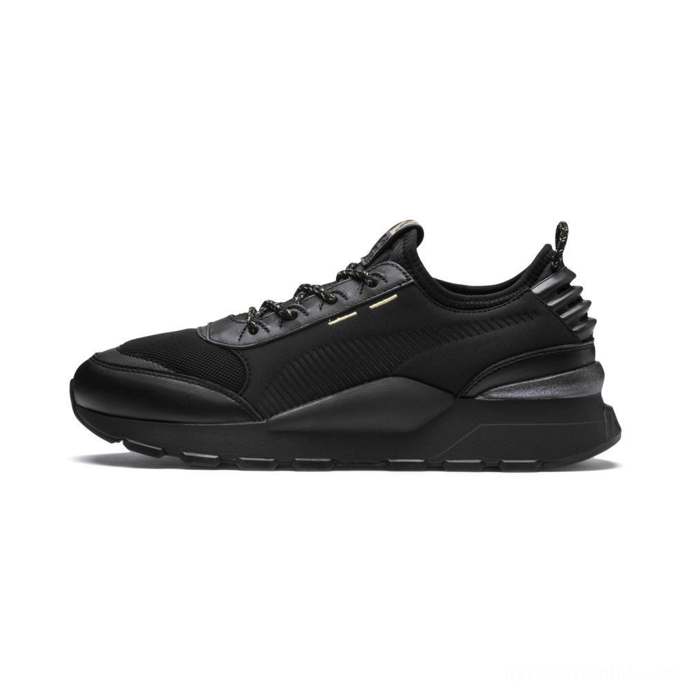 Puma RS-0 Trophy Black- Black Sales