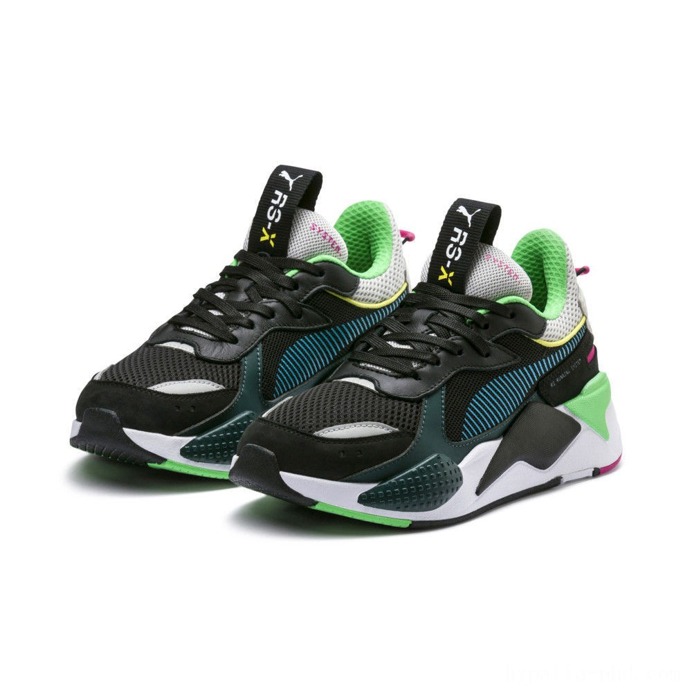 Puma RS-X Toys Black-Blue Atoll Sales