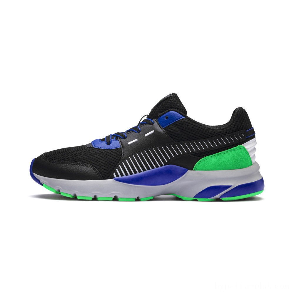 Puma Future Runner Premium Sneakers Black-Surf The Web Sales