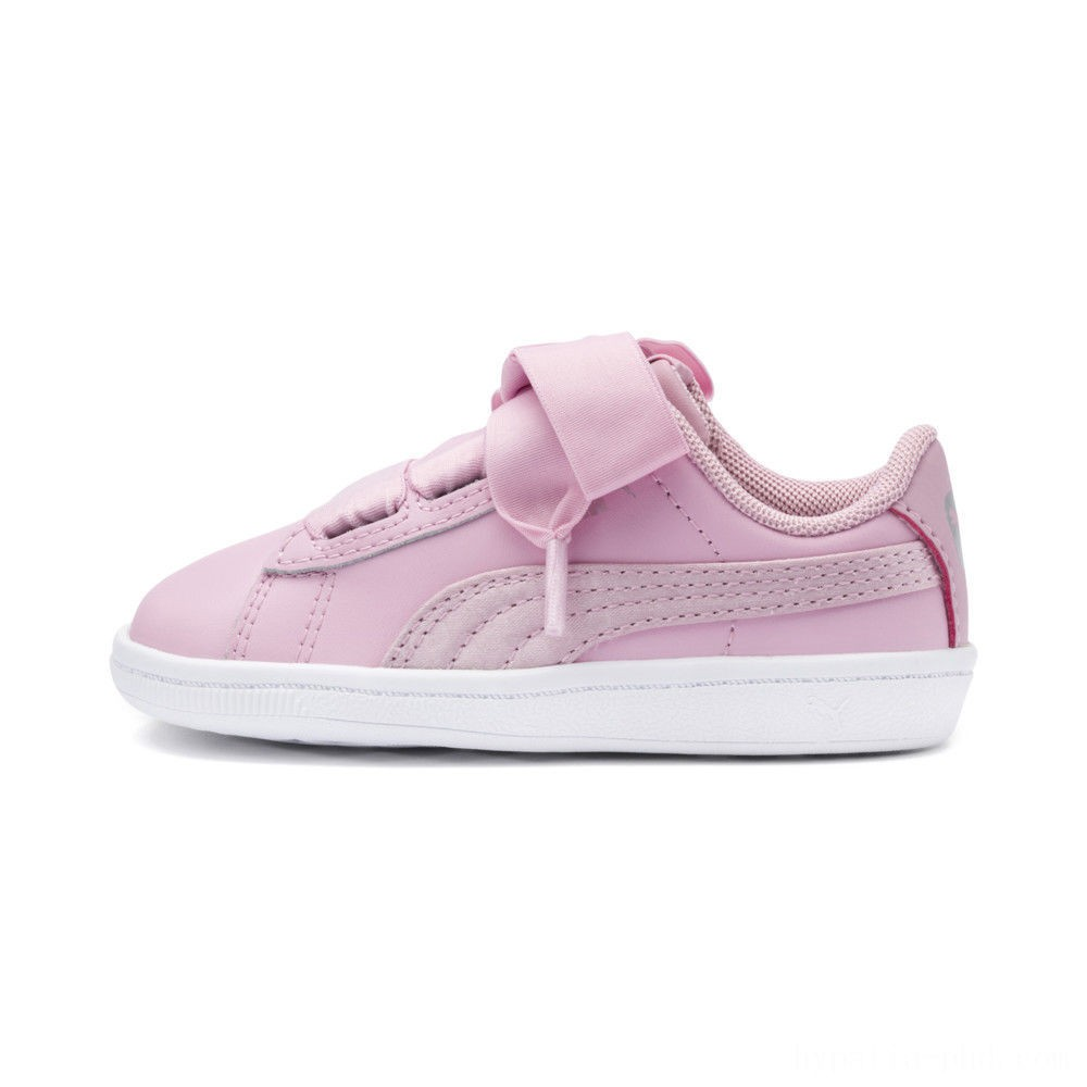 Puma PUMA Vikky Ribbon Satin AC Sneakers INFPale Pink-Pale Pink Sales