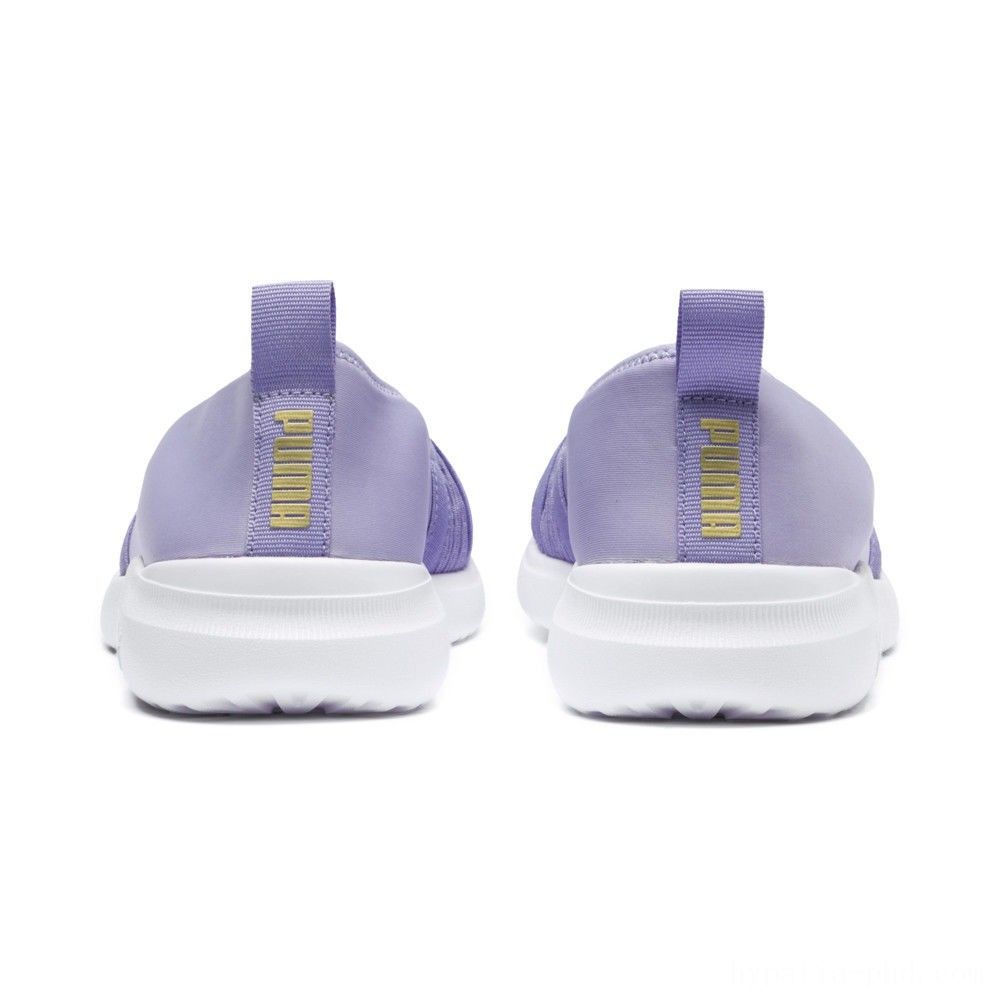 Puma Adelina Women's Ballet Shoes Sweet Lavender-Team Gold Sales