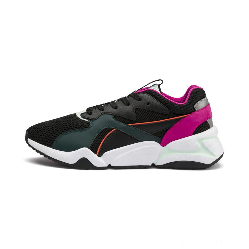 Puma Nova Mesh Women's Sneakers Black-Fair Aqua Sales